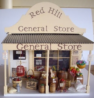 Red Hill General Store.... so want to make this! But scared to start because I'm obsessed with small details with everything I do!