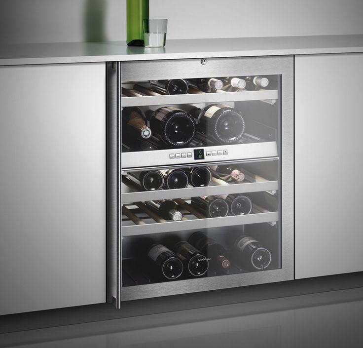 Inbouw wijnklimaatkast. Bron: Gaggenau.