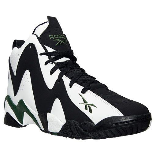 b954bc999cd55 Men s Reebok Kamikaze II Mid Retro Basketball Shoes in 2019