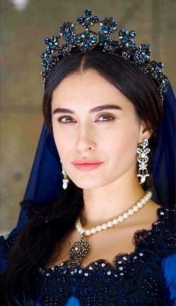 Hande Doğandemir as Turhan Sultan from Muhteşem Yüzyıl Kösem