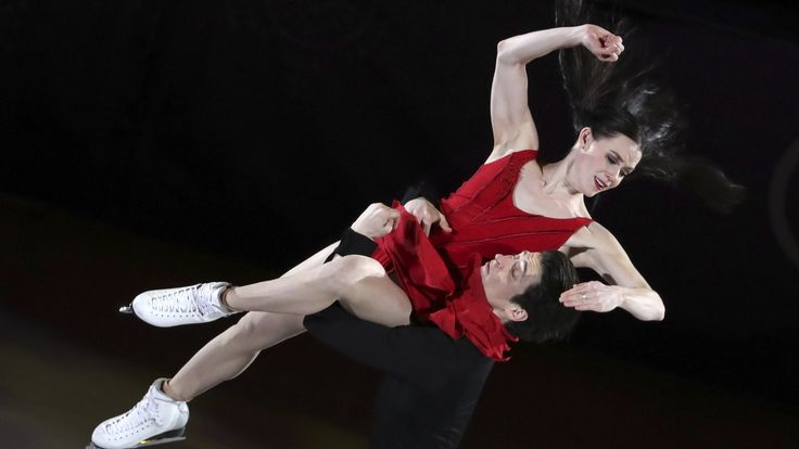 Tessa Virtue, Scott Moir close Olympic curtain with Gord Downie tribute