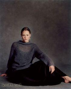 Тонкий пуловер из мохера Nissa. Обсуждение на LiveInternet - Российский Сервис Онлайн-Дневников