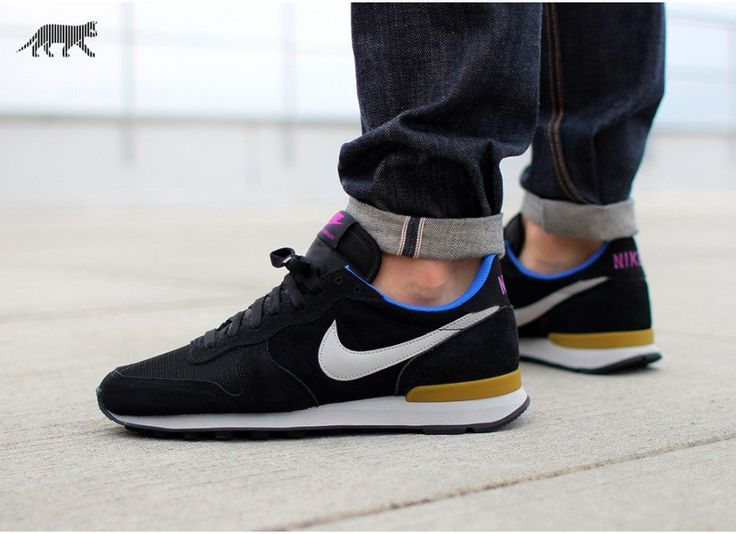 Nike Internationalist Leather (Black / Granite - Bronzine)
