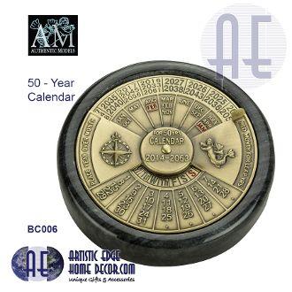 50-Yr Calendar