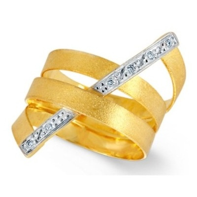 Ring Yellow Gold 18k Diamonds