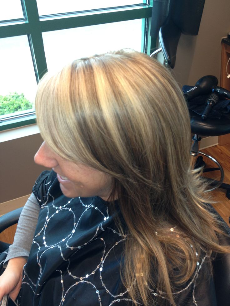 Chunky Blonde Highlights On Light Brown Hair Hair