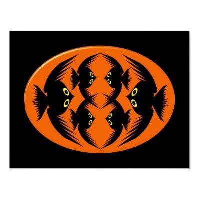 halloween crows poster by destroyingangel - Halloween Crows