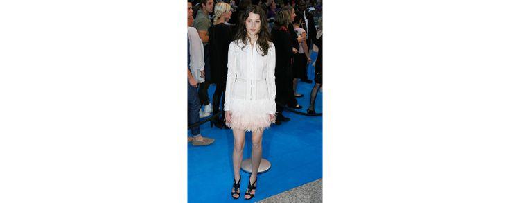 L'actrice portait une robe de la collection haute couture printemps-été 2011 à la première du film Pirates des Caraïbes 4 à Londres.