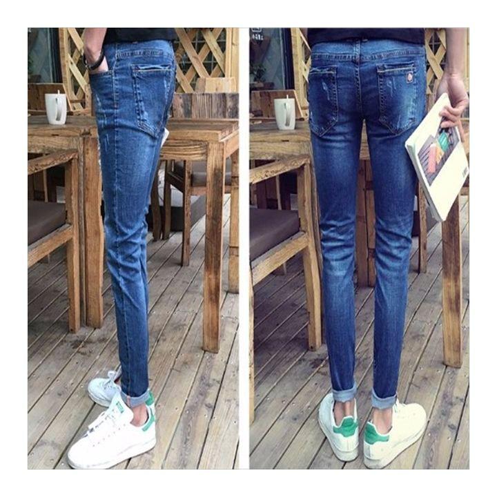 Mサイズ 青 メンズ パンツ デニム 211