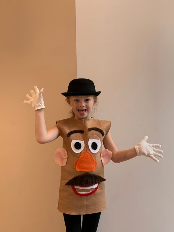 Toy Story 4 Mr Potato Head Potatohead Halloween Costume For
