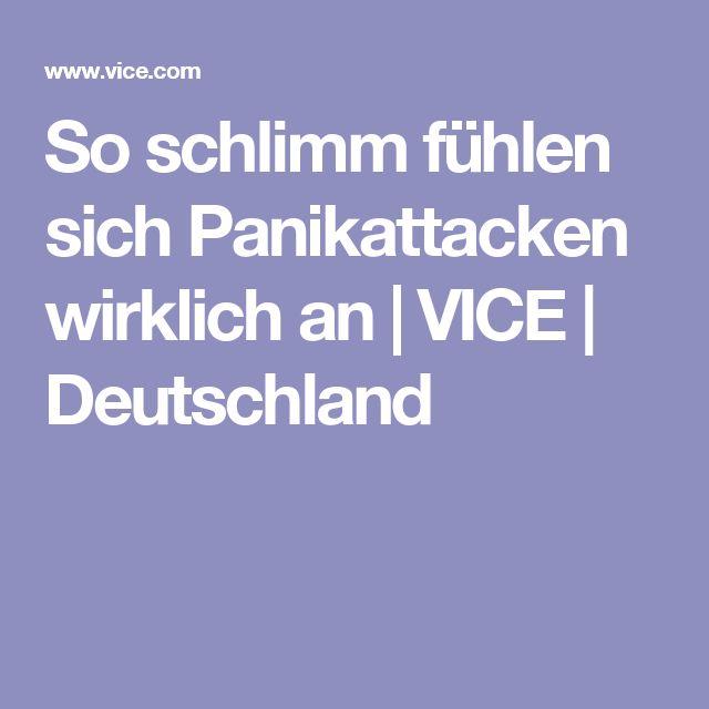 So schlimm fühlen sich Panikattacken wirklich an | VICE | Deutschland