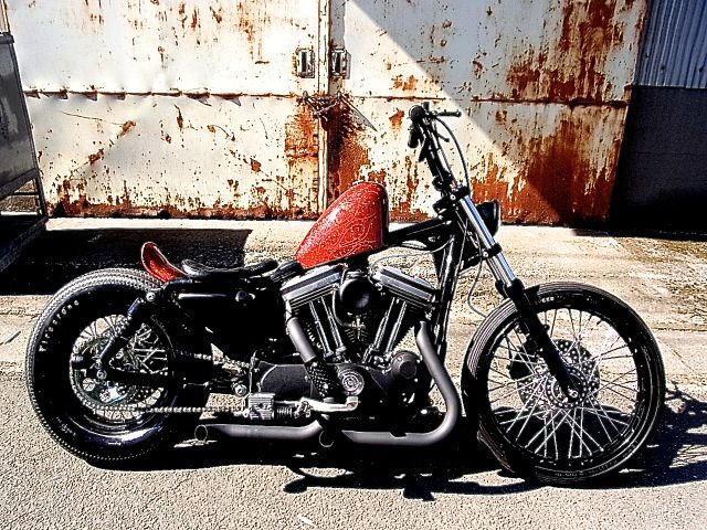 Harley Davidson Sportster 883 2002 By Crazy Orange Motorcycles