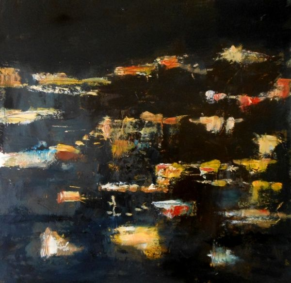 (c) Suzanne Paliard 30 x 30 acrylique sur toile juillet 2015