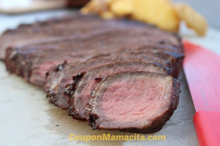NEW RECIPE! Perfectly Grilled London Broil with a Delicious Marinade   Coupon Mamacita