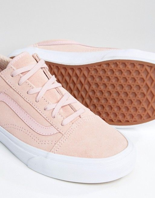vans old skool suede rose