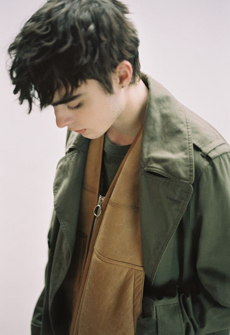 Lennon Gallagher shoot Dazed