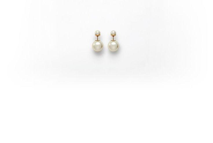 Mise en Dior tribal-inspired earrings