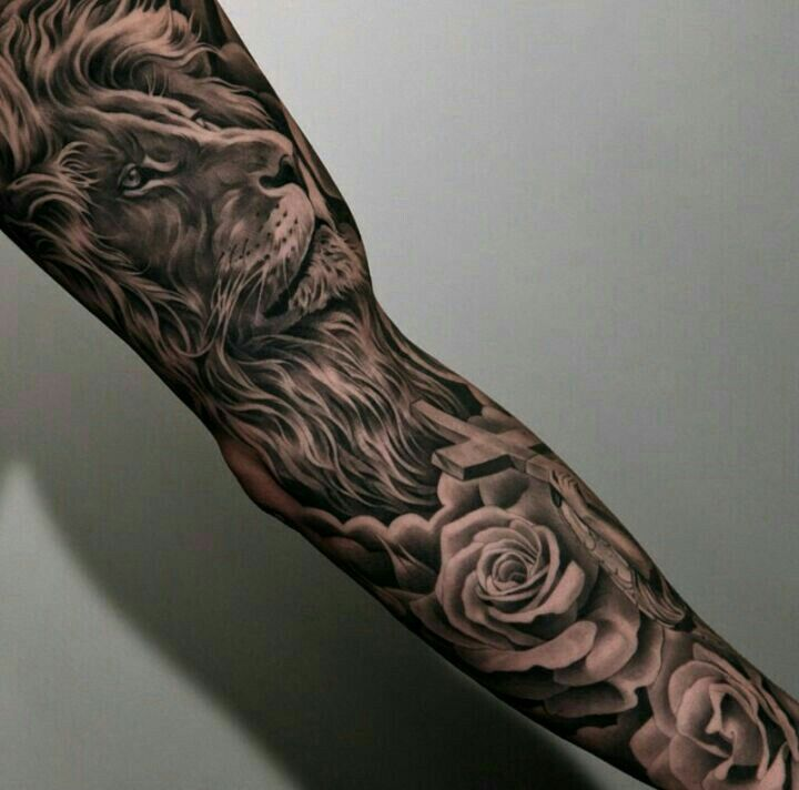 Mehndi Tattoo No Braço : Images about tattoo ideas on pinterest lion