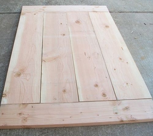 """How to"" for making your own dining room table."