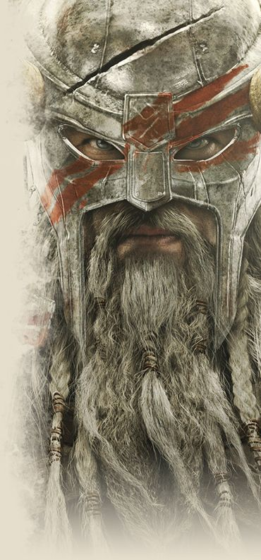 Skyrim Concept art, but One day I would love to have a beard as glorious as this, thats my aim #MFC4012