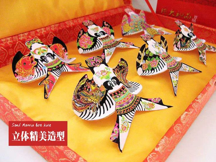 Free shipping Set gift box sand yanerwo kite foreign affairs gifts chinese style unique