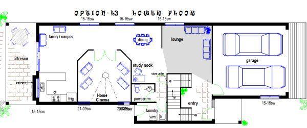 narrow lot 2 storey homes perth