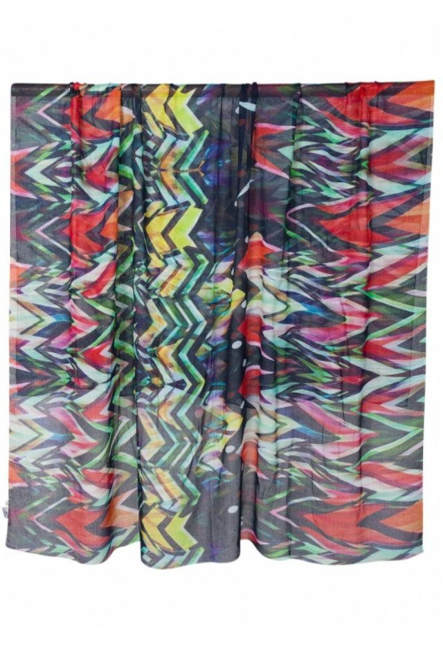 Front Row Society Scarf in Wild Africa