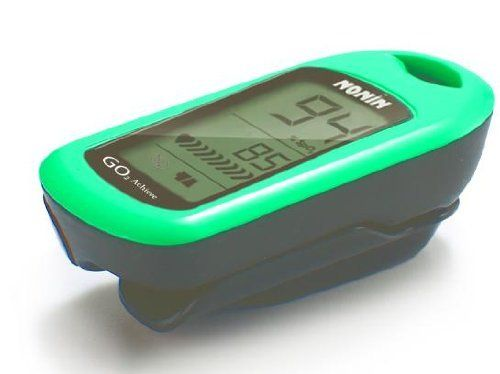 Nonin GO2 Achieve Fingertip Pulse Oximeter, Green Model N-7073-G by GO2 Achieve. $99.00. Nonin Medical, a US company and the inventor of fingertip pulse oximetry, is proud to offer the GO2 line of products. The affordable GO2 line provides reliable oxygen saturation and heart rate values  without compromising accuracy. The GO2 Achieve is for anyone who is interested in knowing their oxygen saturation and heart rate. Applications would be for use during exercise or da...