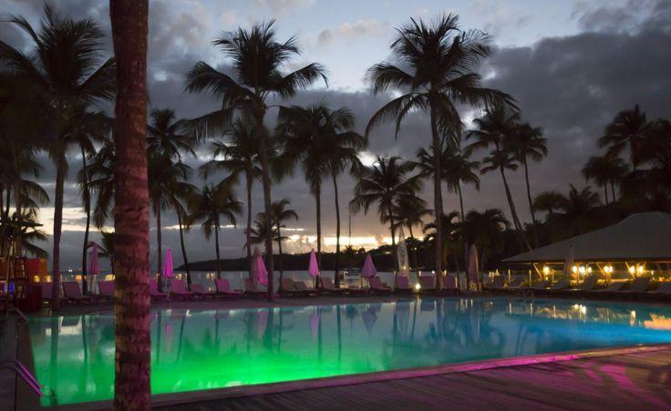 Club Med La Caravelle, Guadeloupe. Piscine.