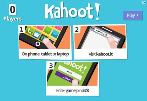 Kahoot is a new quiz and survey creation tool that will work on any device. It allows teachers to set up and run multiple choice quizzes which their students can then answer via any device that has…