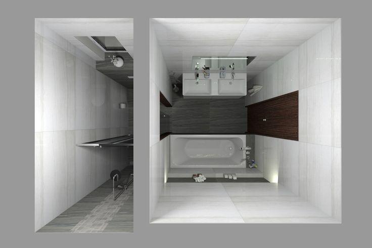 Prohlédněte si další z našich vizualizací interiéru pro našeho zákazníka. Tentokrát jsme navrhovali obklady a dlažby velmi elegantní kolekce Travertino Elegante od výrobce Ascot.