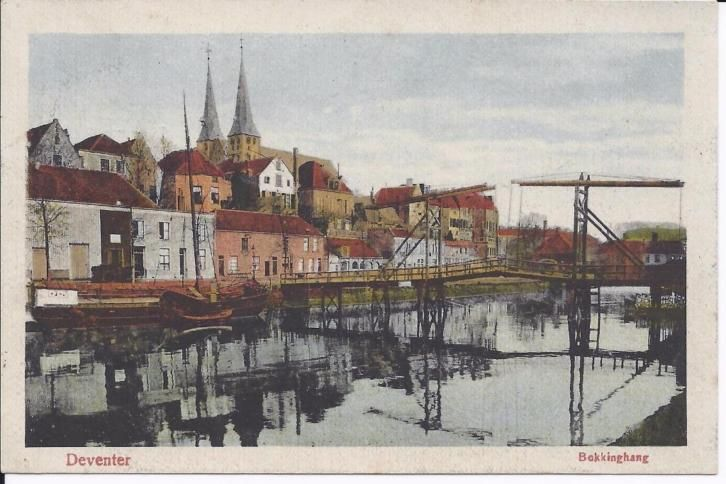 Deventer, Bokkingshang 1920