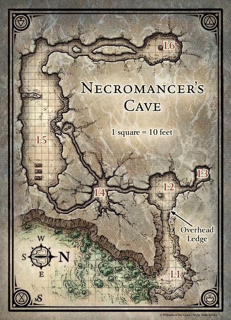 Princes of the Apocalypse; Necromancer's Cave (Digital DM & Player Versions):