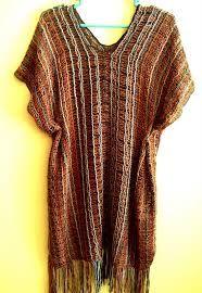 Resultado de imagen para vestidos tejidos a telar