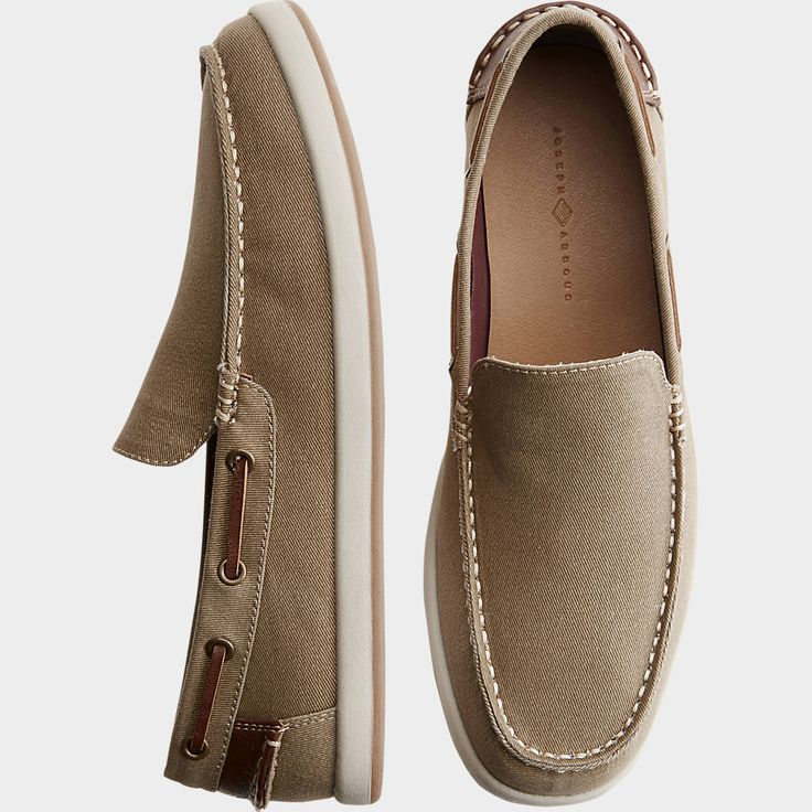 Buy a Joseph Abboud Ivan Tan Canvas Boat Shoes online at Men's Wearhouse. See the latest styles of men's Boat Shoes. FREE Shipping on orders $99+.