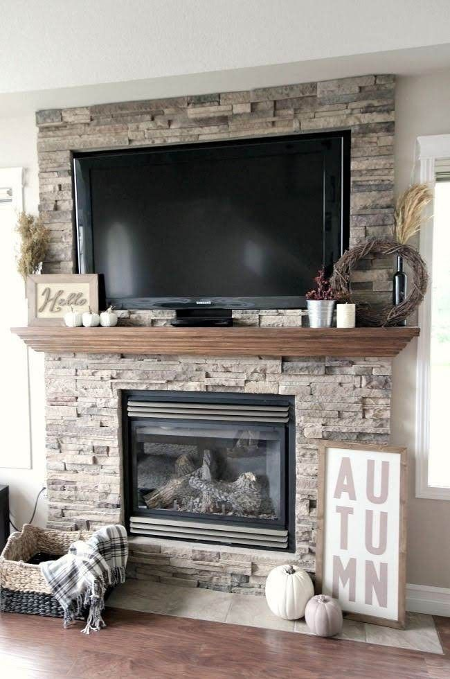 No Fireplace Hearth Tile On The Floor In 2020 Living Room Tv Living Room With Fireplace Home Decor