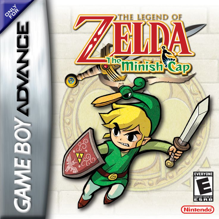 The Legend of Zelda: The Minish Cap (2004, GameBoy Advance)