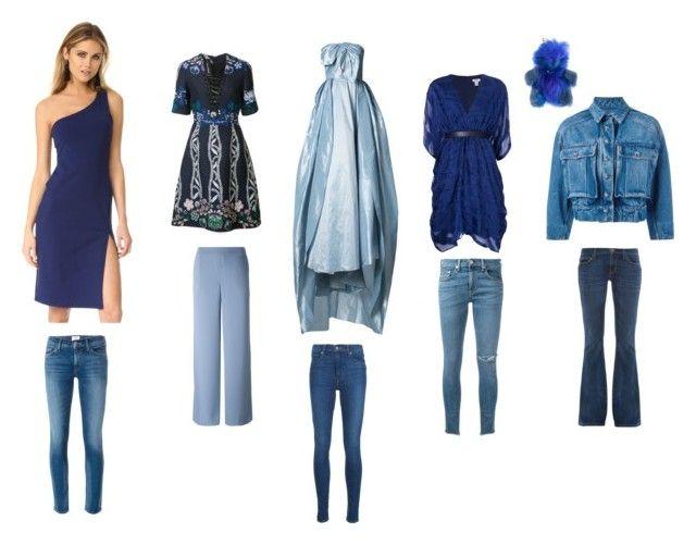 """Fashion Never ends"" by emmamegan-5678 ❤ liked on Polyvore featuring Levi's, Carolina Herrera, Issa, rag & bone/JEAN, Dolce&Gabbana, Current/Elliott, Yigal AzrouÃ«l, P.A.R.O.S.H., Susana Monaco and Hudson"