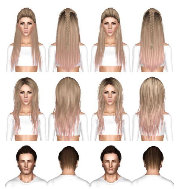 Pin By Ivysimmer18 On Sims 3 Cc Hairstyles Sims Sims Hair Sims 3