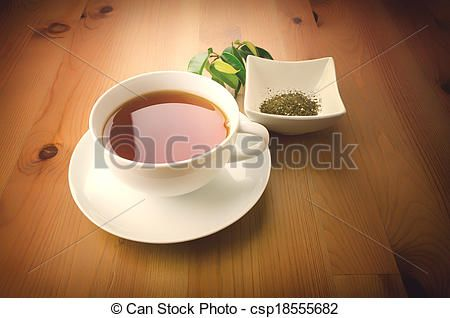 Cup of tea - csp18555682