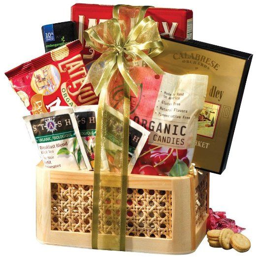 Broadway Basketeers Organic and Natural Healthy Gift Basket - A Healthy Gift Basket: Amazon.com: Grocery & Gourmet Food