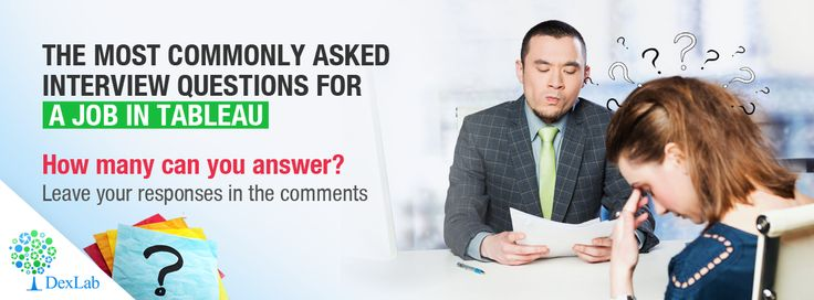 Ace your next #Tableau interview by answering these interview #questions