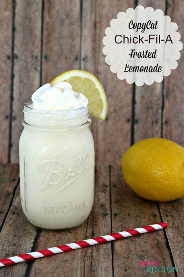 Chic filet frosted lemonade