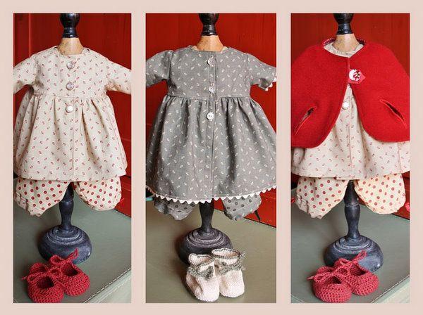 De tante van Tjorven: Fabrique Romantique handgemaakte poppen