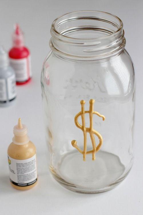 Best 25 mason jar bank ideas on pinterest money bank for Mason jar piggy bank