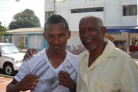 William Urina (izquierda).