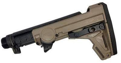 A.R. 10 sniper stock folding