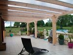 Pergola bois murale 6.00 x 4.00 mètres sapin & toiture polycarbonate    Jardin, terrasse, Décorations de jardin, Autres   eBay!