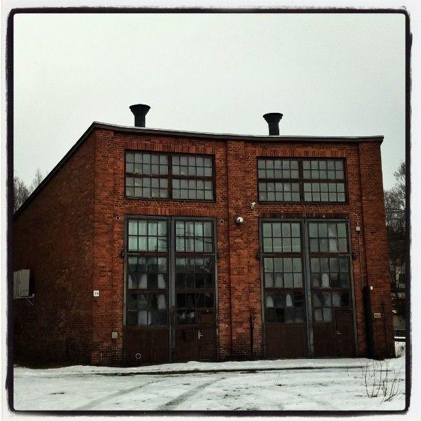 Old engine hall  - close by Hämeenlinna railwaystation