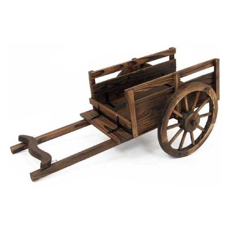 M s de 25 ideas incre bles sobre carretilla de madera en for Carreta de madera para jardin